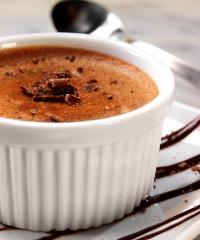 Baked Chocolate Custard Recipe