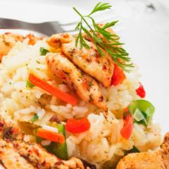 Indian Chicken Risotto Recipe