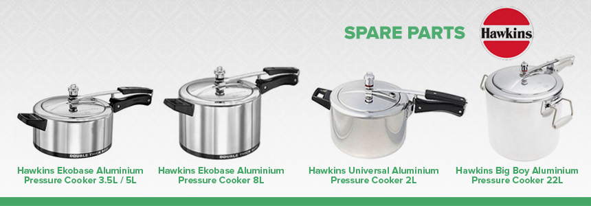 Hawkins Pressure Cooker Spare Parts | Worldwide Shipping