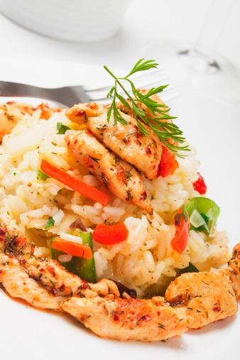 Indian Chicken Risotto | Free Pressure Cooker Recipe